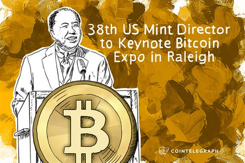 Moy to Keynote Bitcoin conference