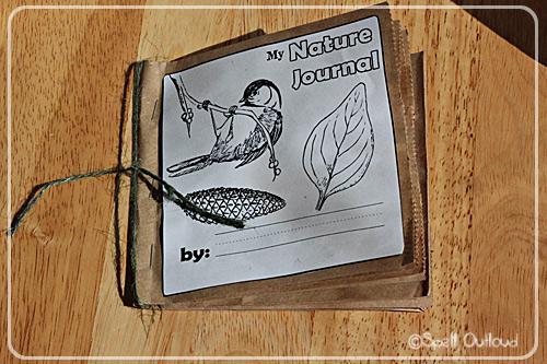 Paper Bag Nature Journal (Photo from Spell Outloud)