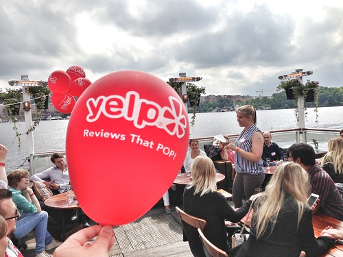 yelp elite event - on a boat