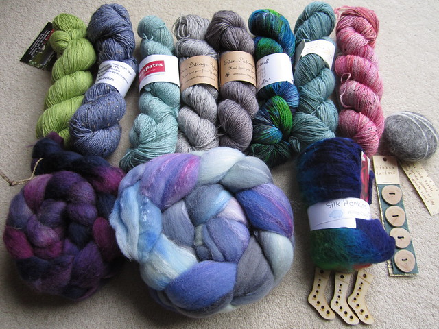 Woolfest goodies 001