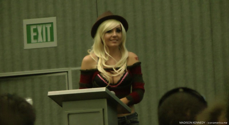 Meeting Jessica Nigri at Big Wow Comic Fest !