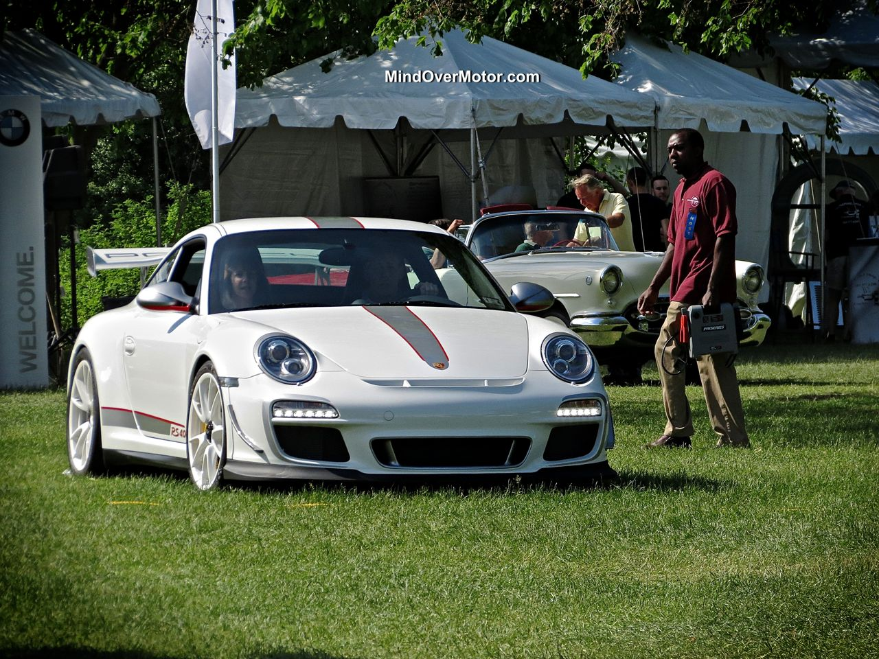 Porsche 997 GT3 RS 4.0 at the Greenwich Concours
