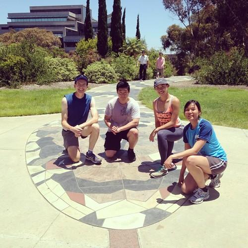 Snake path. UCSD.
