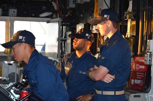 Midshipmen Spend Summer Training on board USS Lake Champlain