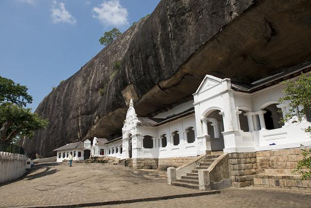 SL090 Dambulla Cave Temple 01 - Sri Lanka