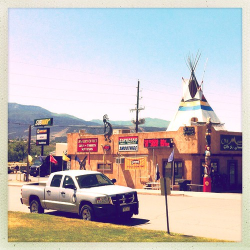 Unproblematic cultural appropriation in Parachute, CO.