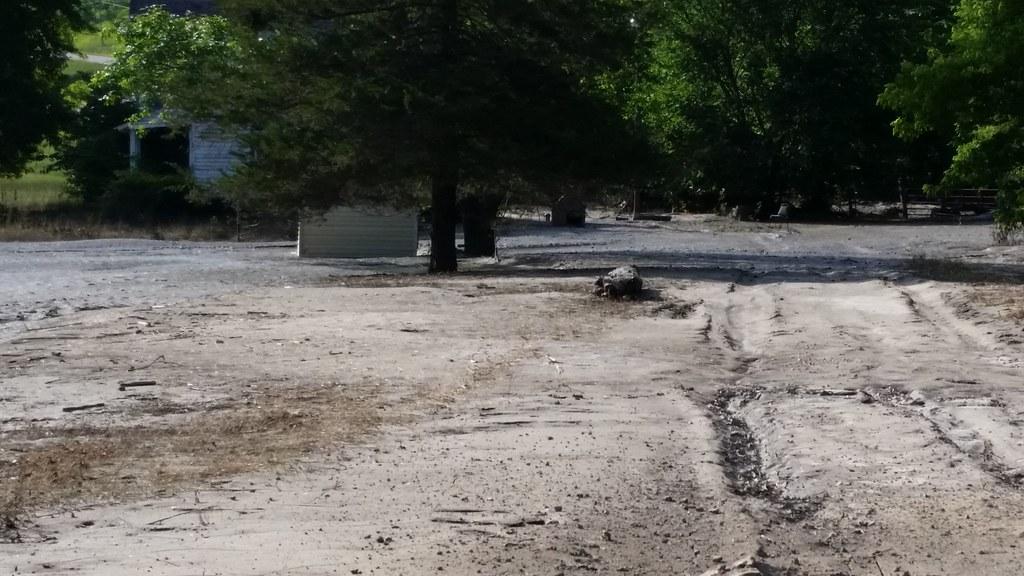 Mud covering yard - Henderson, MN