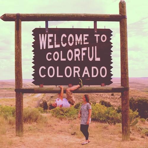 Just hanging in Colorado #colorado #ballerado #lessfamilyvacation2014