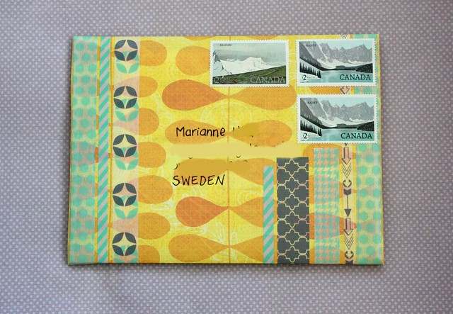Yellow Outgoing mail, brinnertime.com