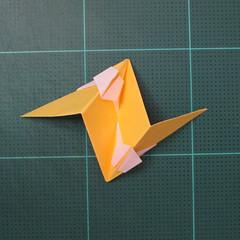 วิธีพับบอลกระดาษแบบเอสเตลล่าฟลอร์ (Estrella Flor Kusudama)014