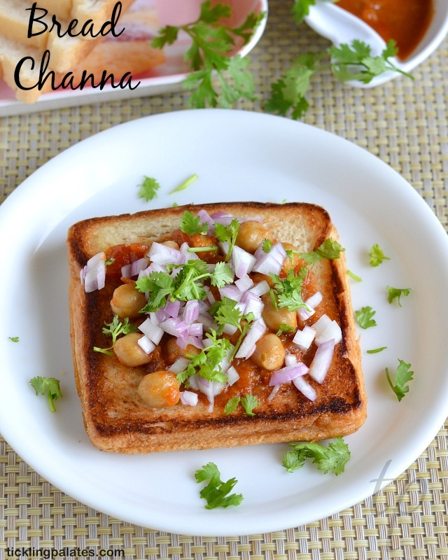 Bread Channa Recipe