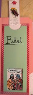 Babel Slider Book #2