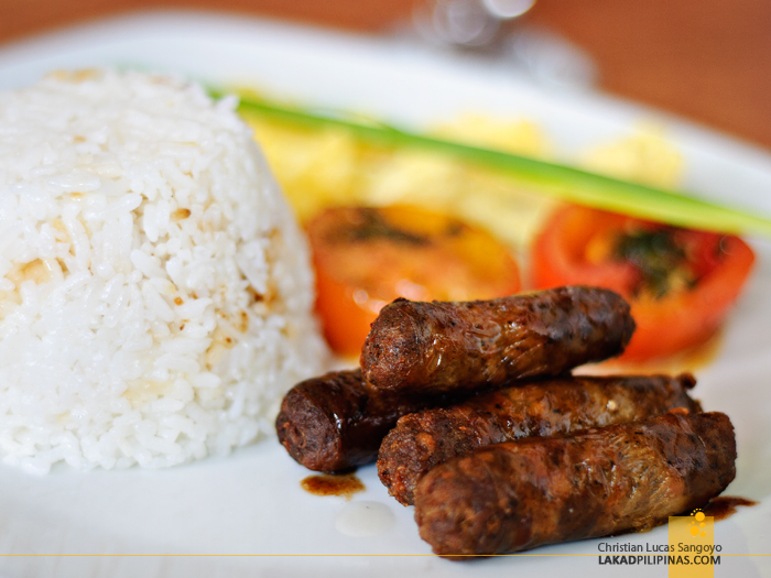 Longganisa at Kanto Freestyle Breakfast Kapitolyo