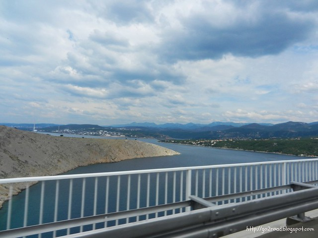 Виды с моста Крк