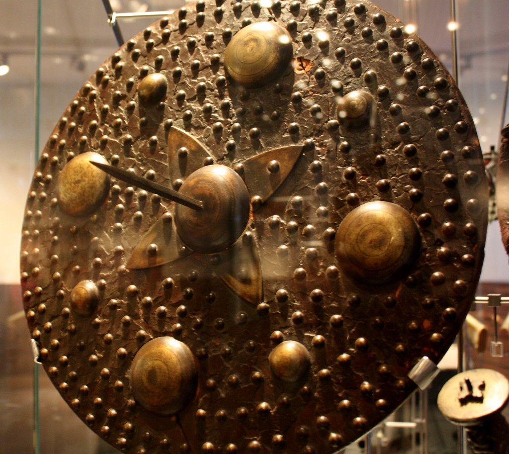 Culloden spiked shield
