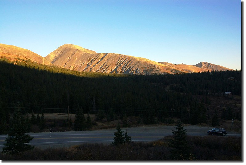 Quandary Peak from CO-9