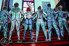 New York Body Paint Day 2014