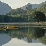 Lake padarn&boats sunrise.