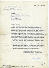 108. A bonni egyetem nemzetközi jogi intézete igazgatójának kérése a magyar Parlamenthez Habsburg Ottó állampolgárságáról