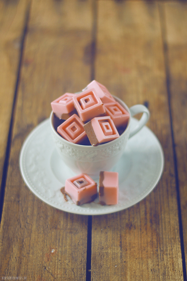 Strawberry-Espresso Ice Cups    @ yumlaut.de