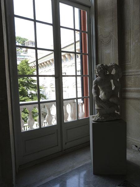 fenêtre du palais Rouge