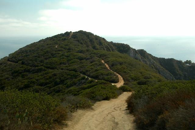 Aliso Peak:  The Way Down