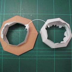 วิธีทำโมเดลกระดาษของเล่นคุกกี้รัน คุกกี้รสพ่อมด (Cookie Run Wizard Cookie Papercraft Model) 046