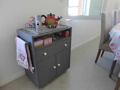 meuble micro onde relook fourchettes et pinceaux. Black Bedroom Furniture Sets. Home Design Ideas