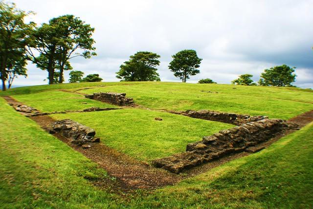 Barr Hill Roman Fort, Antonine Wall, Twechar, Scotland