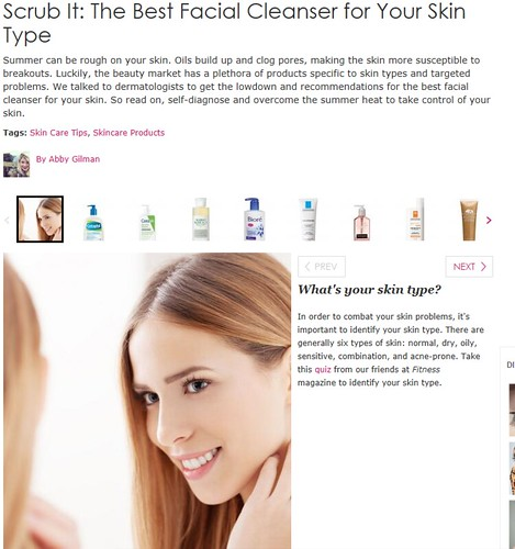 Dr. Joel Schlessinger talk to DivineCaroline.com about the best facial cleansers