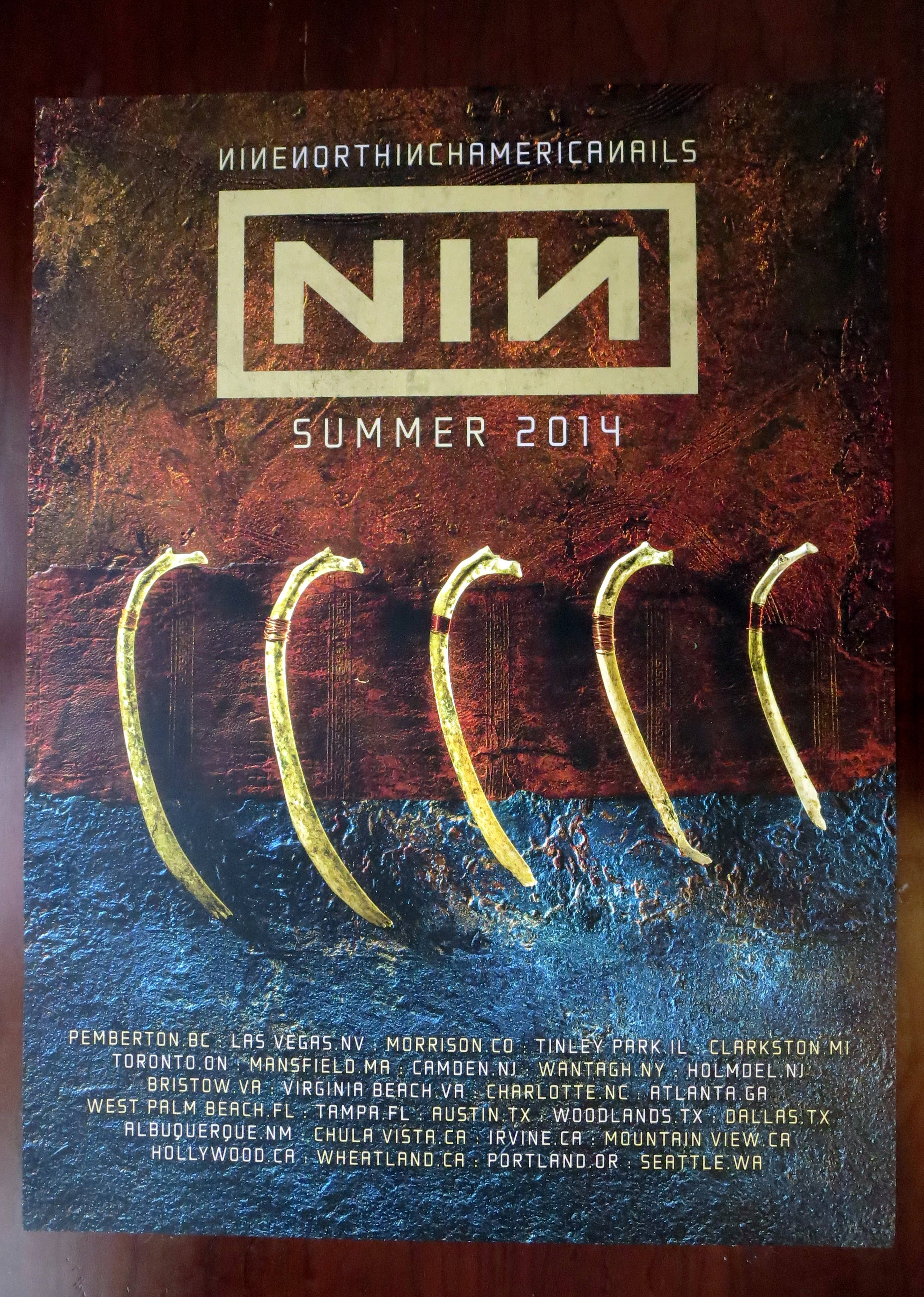 NIN Soundgarden Tour Merchandise thread [Archive] - Page 2 - Echoing ...