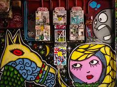 Graffiti dans les passages