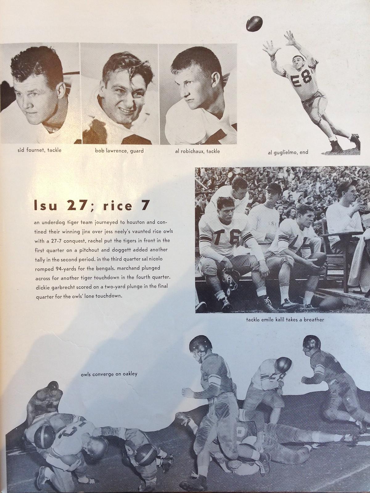 LSU 1952 Gumbo 3