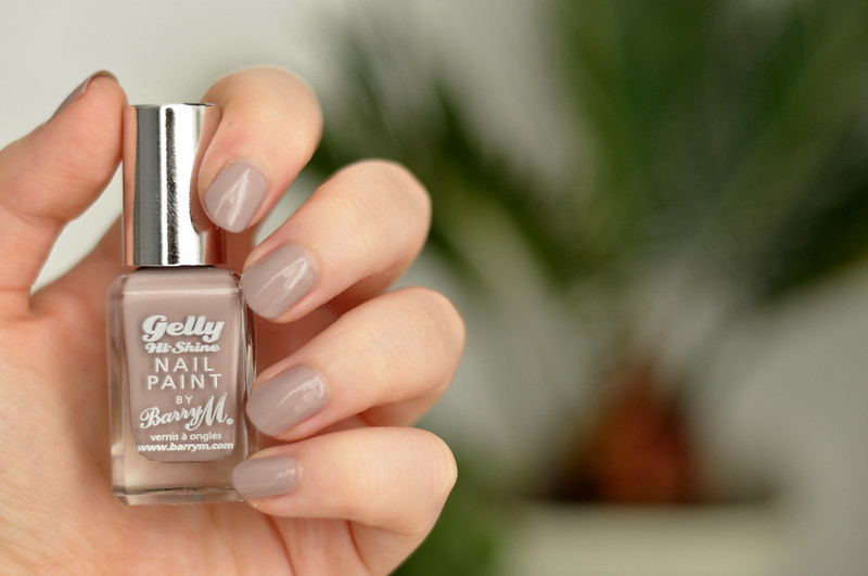 notd barry m gelly almond nail polish rottenotter rotten otter blog