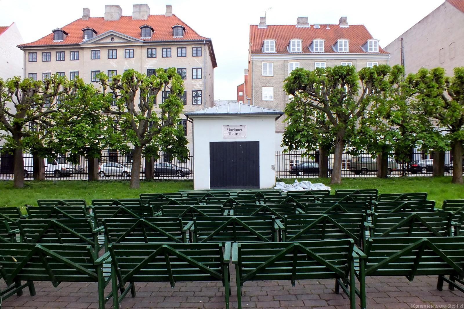 Marionet Teatret, Rosenborg Palace Garden, København, Denmark