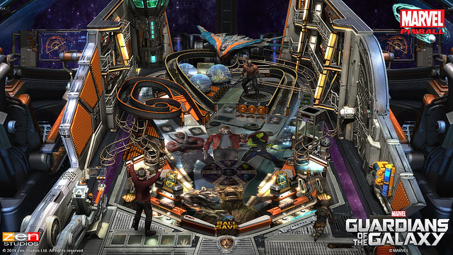 Zen Pinball 2: Guardians of the Galaxy Pinball