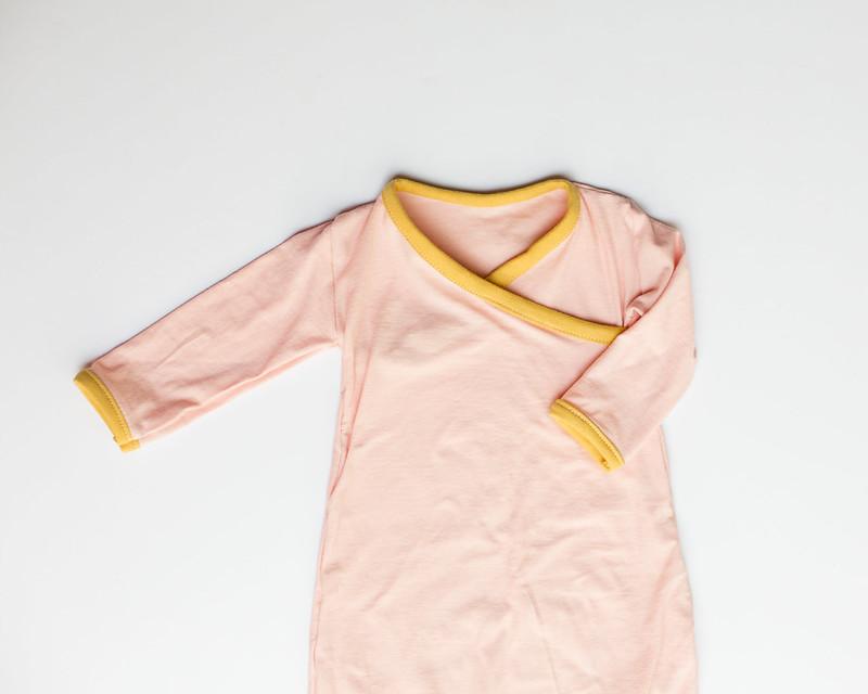 kimono newborn gown