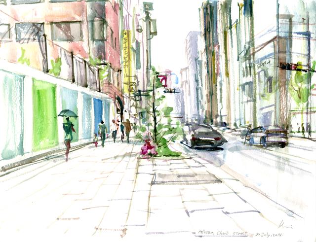 Ginza Chuo street