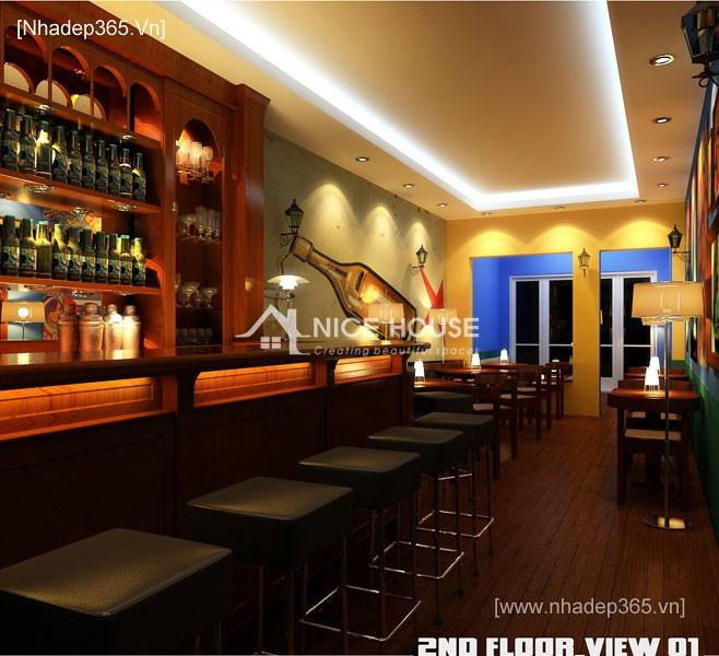Nội thất quán cafe Cu Ba - HN_7