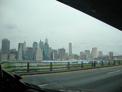 Manhattan View from BQE (Brooklyn-Queens Expressway)