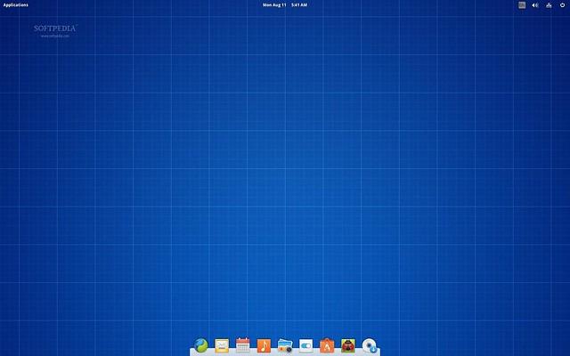 Скриншот elementary OS Freya