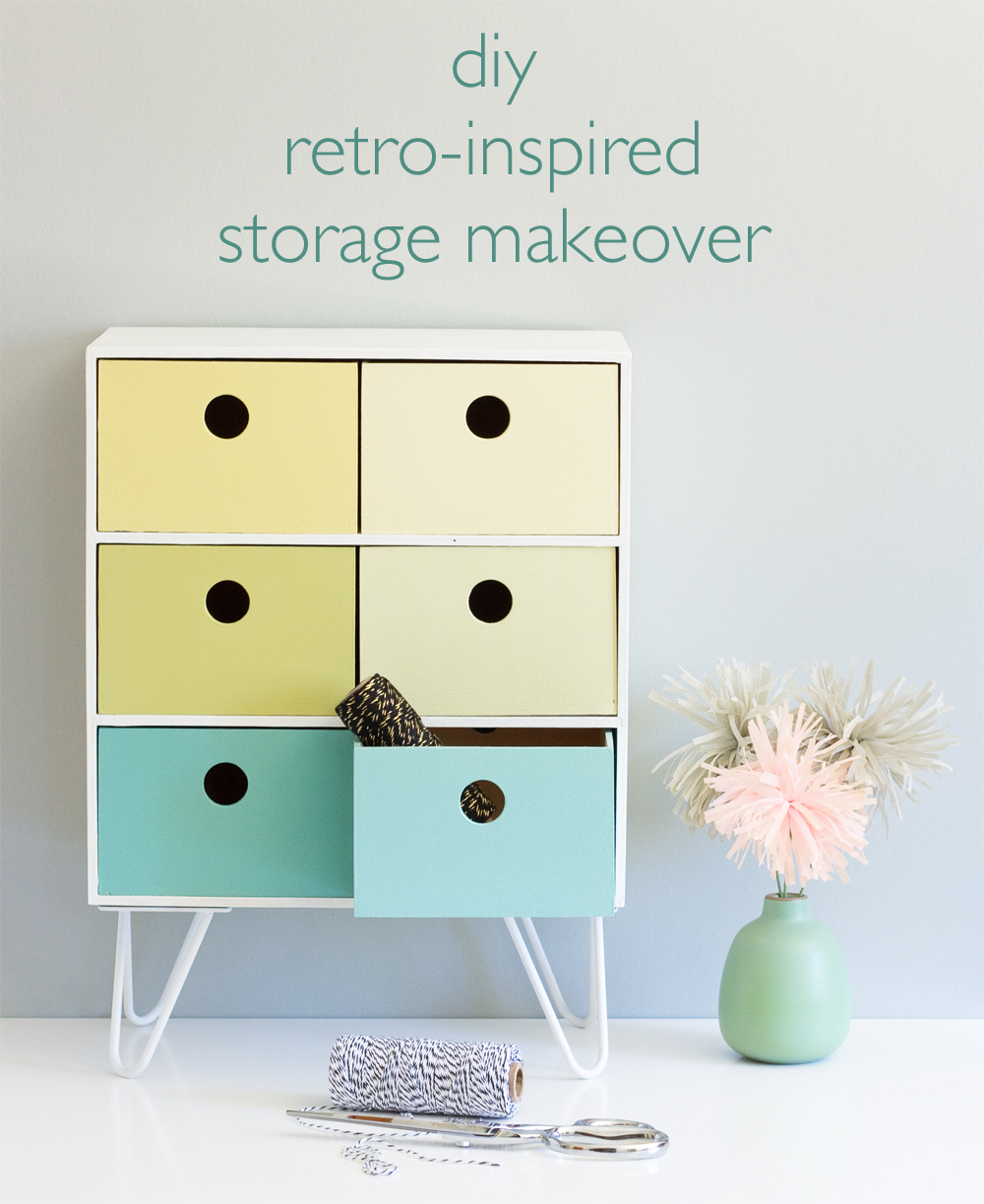 Retro-Style Storage Makeover
