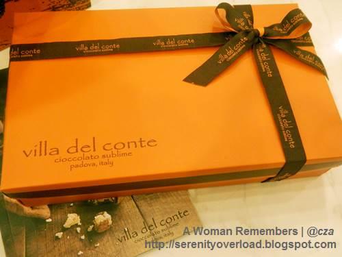 Villa-Del-Conte-artisan-chocolate-Italy,chocolate, Italy chocolate, Villa del Conte, chocolate gift