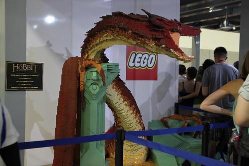 SDCC 2014 LEGO Smaug