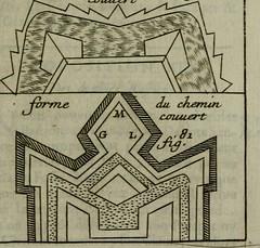 """Image from page 338 of """"L'art de fortifier, de defendre, et d'attaquer les places : suivant les methodes françoises, hollandoises, italiennes & espagnoles, le tout enrichy de figures en taille douce"""" (1677)"""