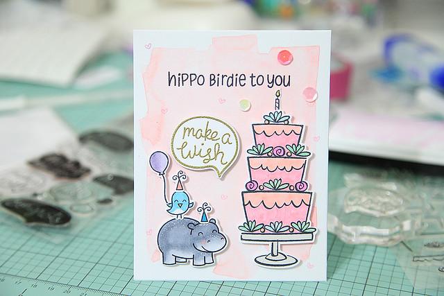 Hippo Birdie to you