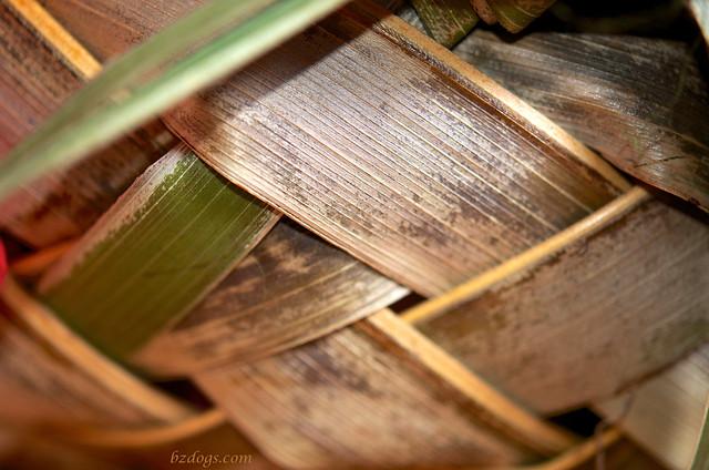Palm Frond Basket