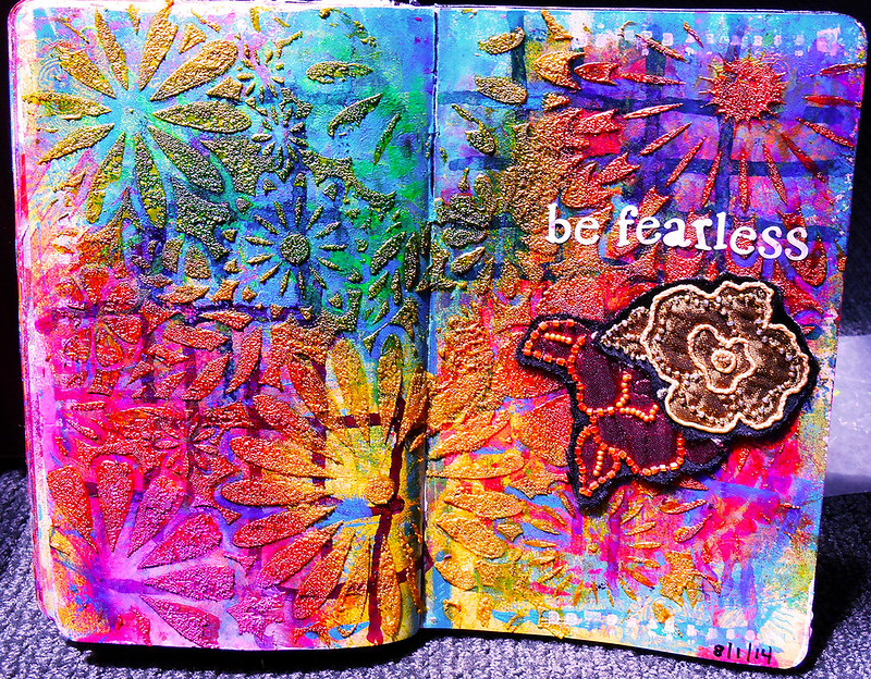 art journal - be fearless