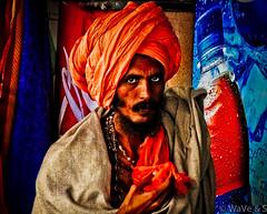 Sadhu - Portrait - Color