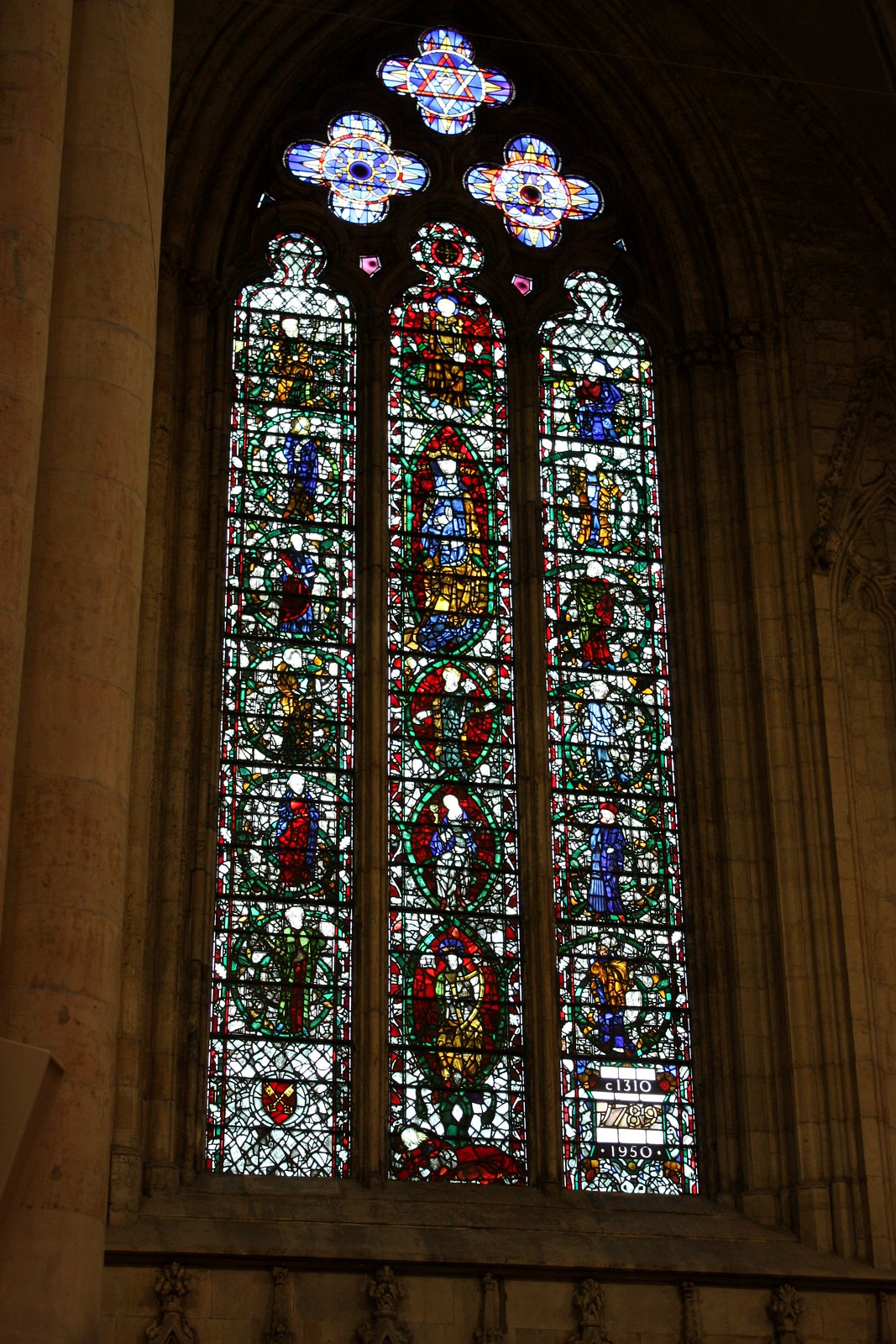 York Stained glass window
